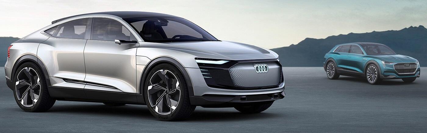 Audi e-tron concepts